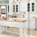 white-kitchen-cabinets-island-Roswell-ga
